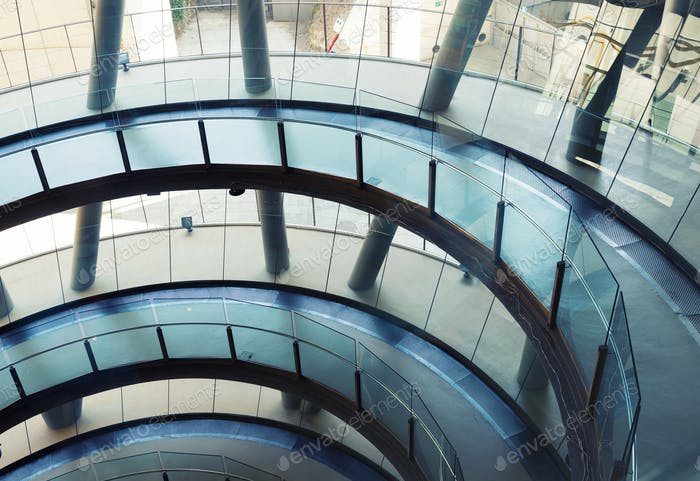 Edificio de oficinas Futurista