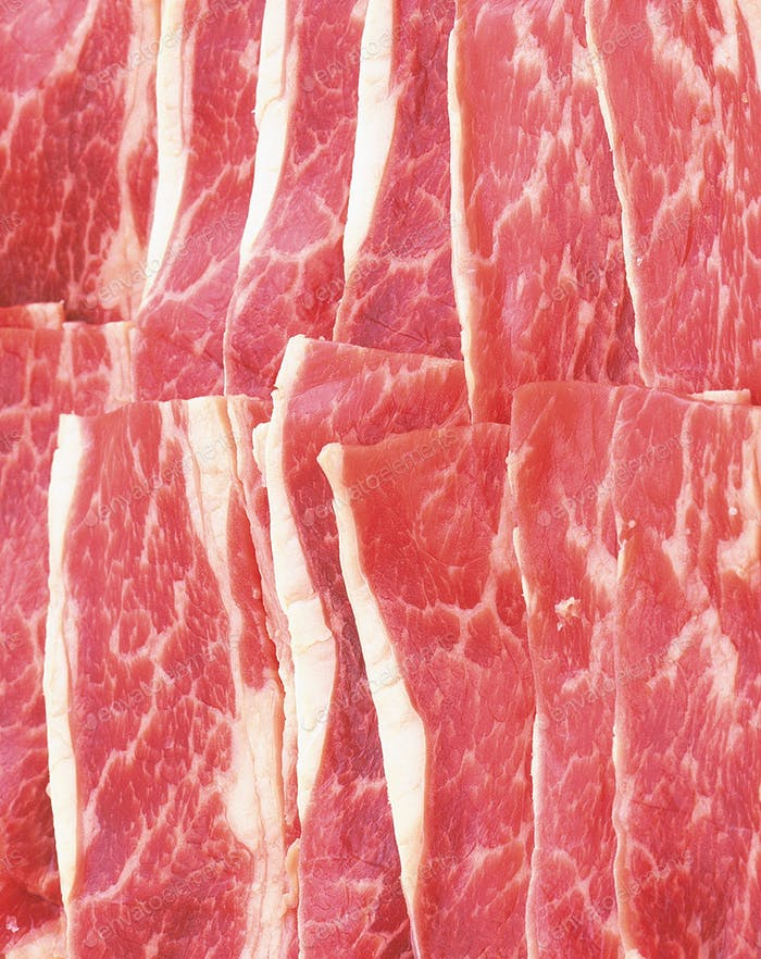 macro shot of meat background or texture