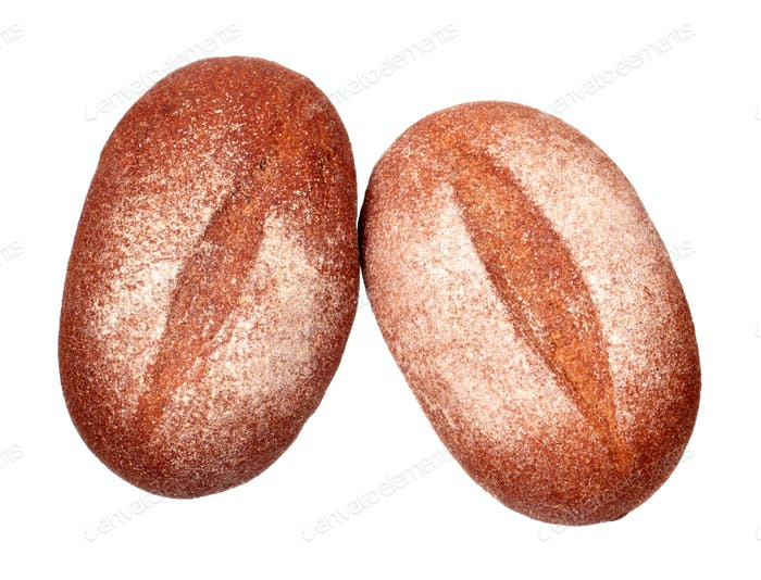 Two rye breads