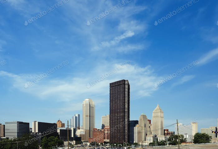 Skyline von Pittsburgh, Pennsylvania