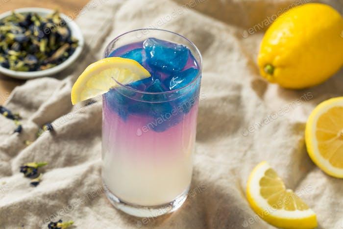 Homemade Butterfly Pea Tea Lemonade