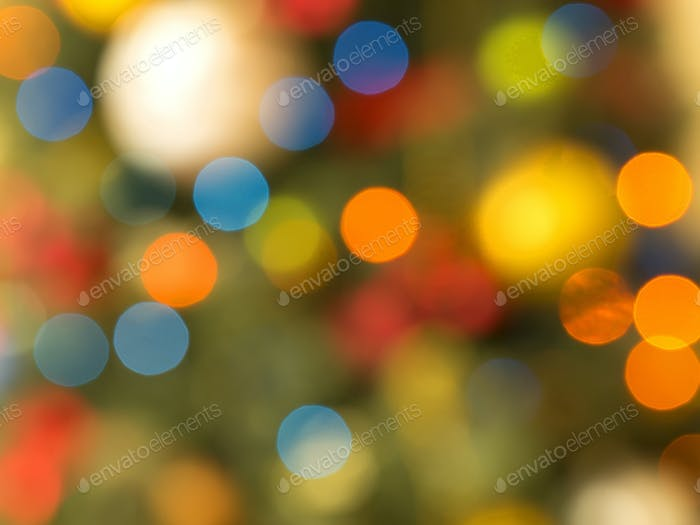 Christmas lights, a background