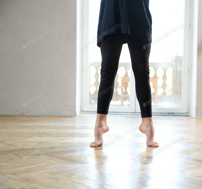 Nahaufnahme Bild von einem Mann Beine