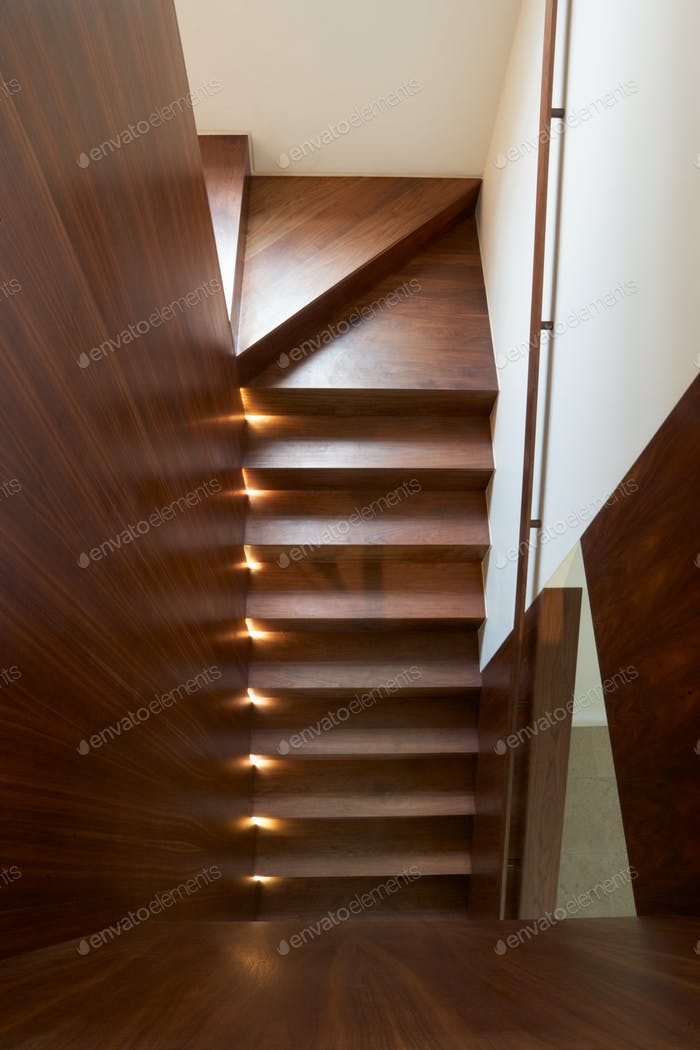 Staircase Inside Modern House
