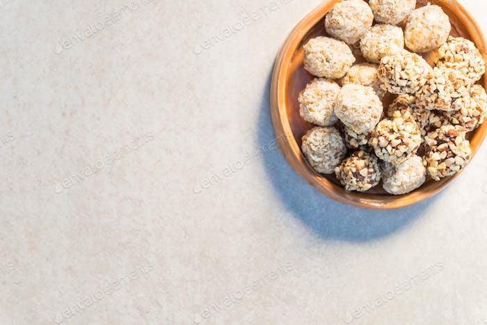 Gluten Free Vegan Truffles, tasty protein packed snacks