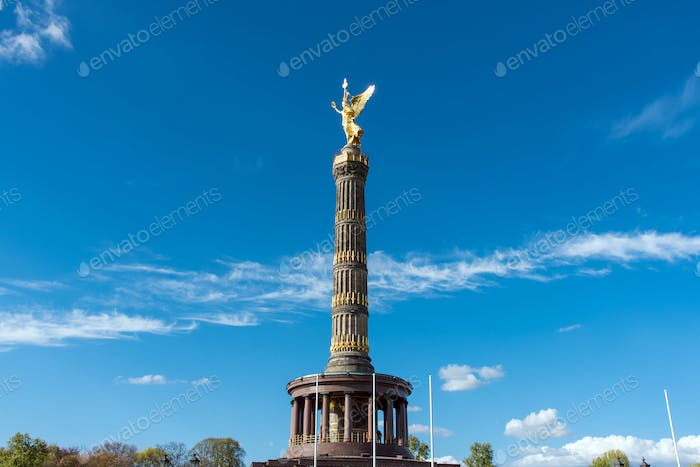 The Statue of Victory in Berlin