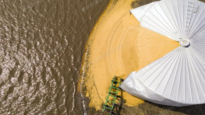 Iowa Farm Silo Burst By Midwest Flooding Disaster March 2019