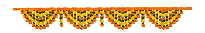 Flower Toran or Garland for Indian Festivals