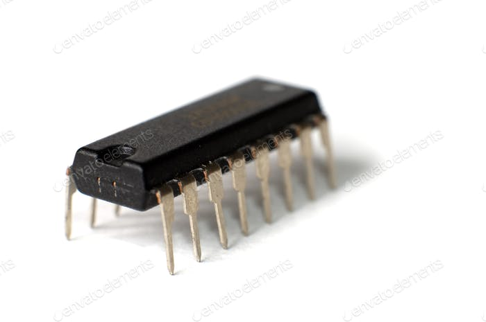 SMD electronic chips in DIP case