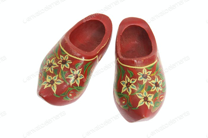 Wooden Clogs Souvenir
