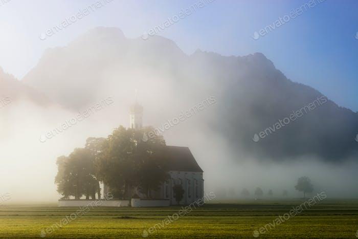 Church near Neuschwanstein Castle, Germany