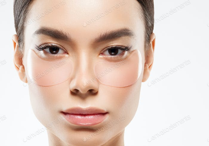 Eyes cosmetic mask woman face beauty putches