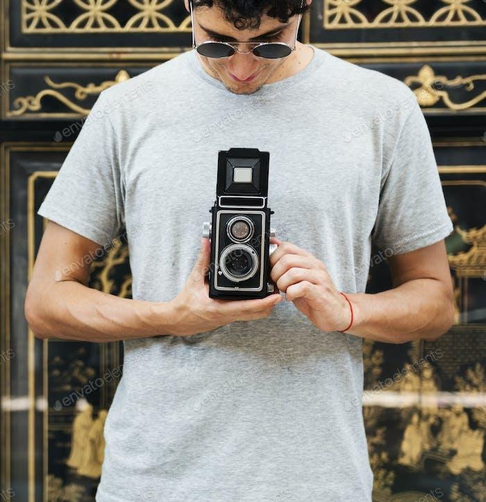 Кавказский фотограф