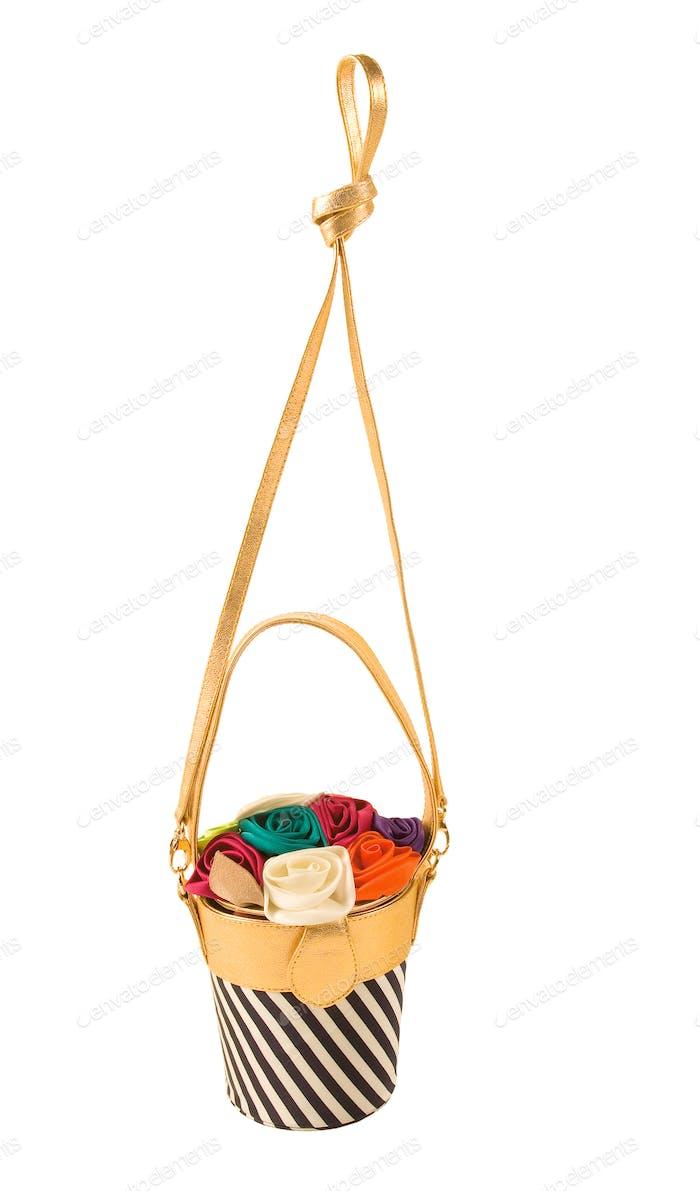 Flowerpot imitation purse