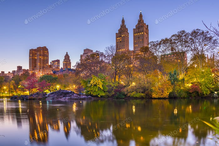 New York, New York, USA at Central Park
