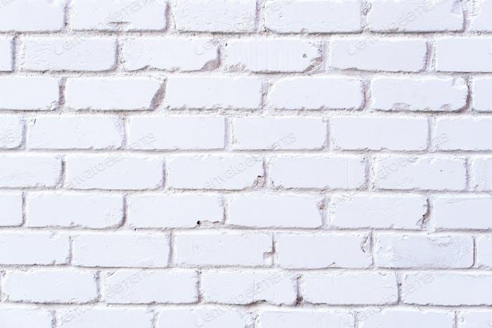 Textura de pared de ladrillo blanco. Fondo con espacio de copia para el diseño