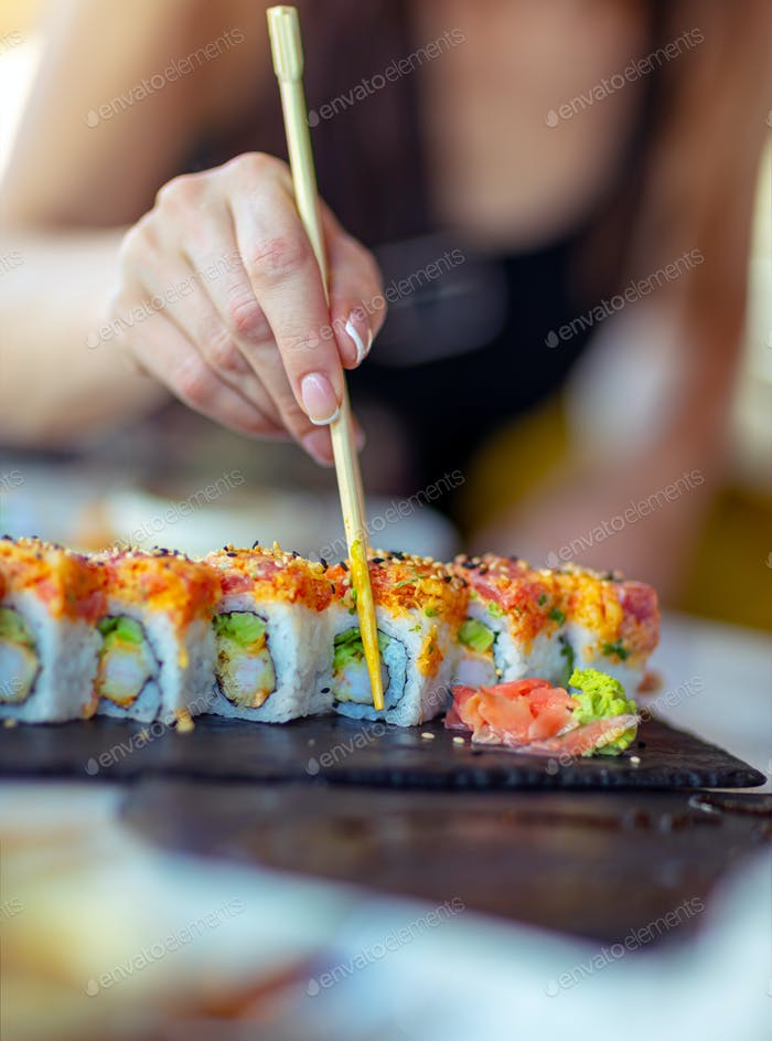 Tasty california roll