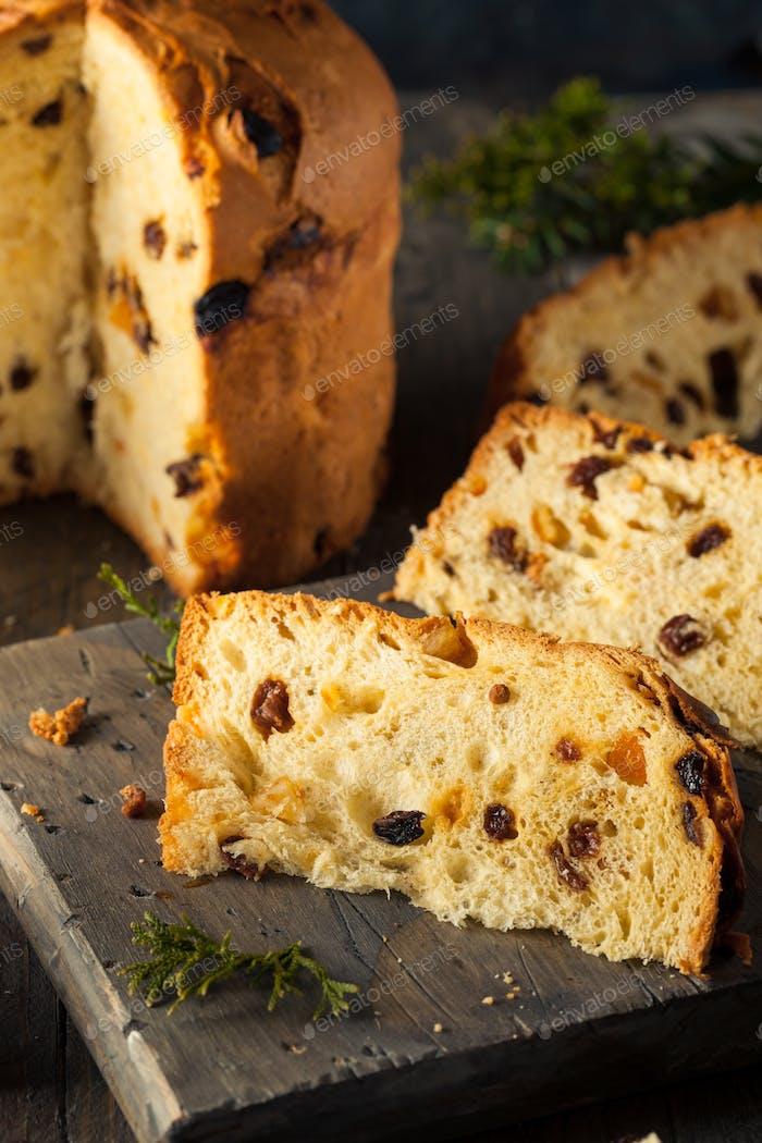 Hausgemachte Weihnachten Auch Panettone Brot