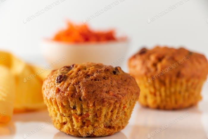 Tasty pumpkin muffins