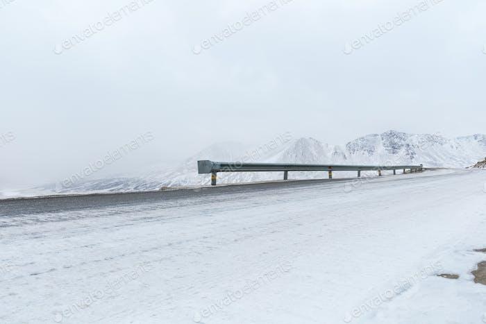 highway in winter