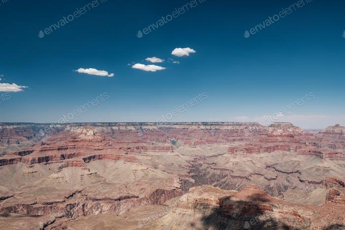 Horizontal del Gran Cañón