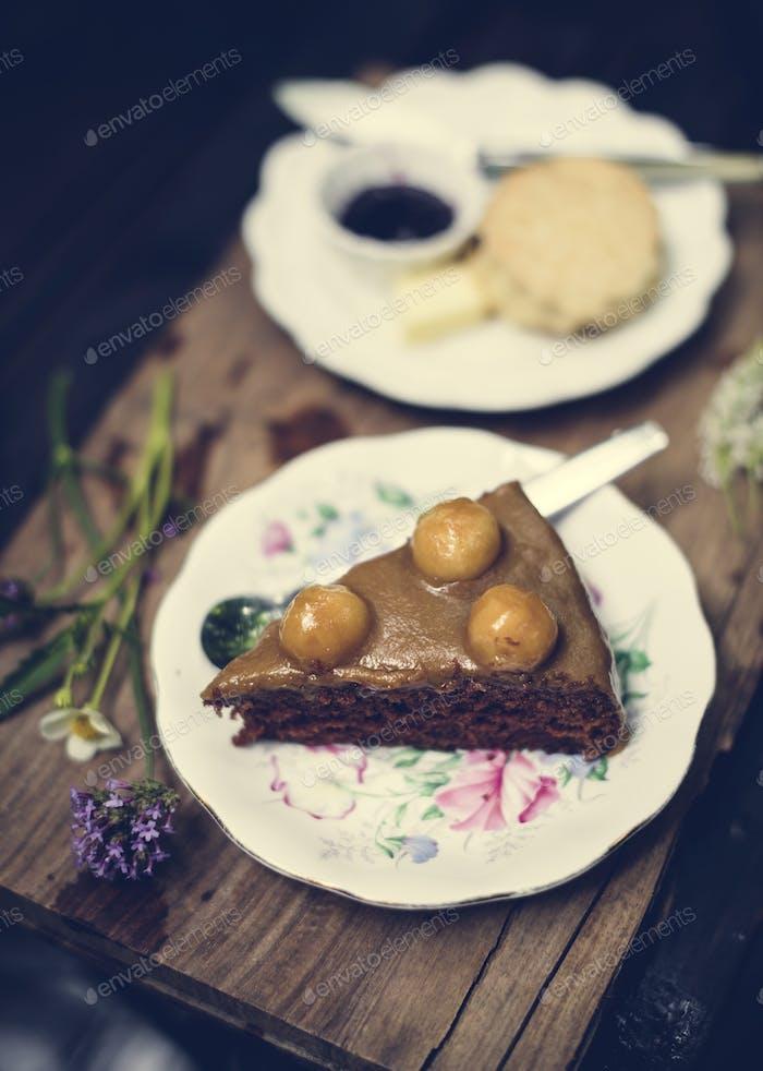 Teller Dessert