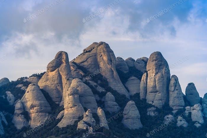 Montserrat Mountains Formations