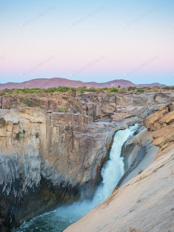 Augrabies Falls at Dusk
