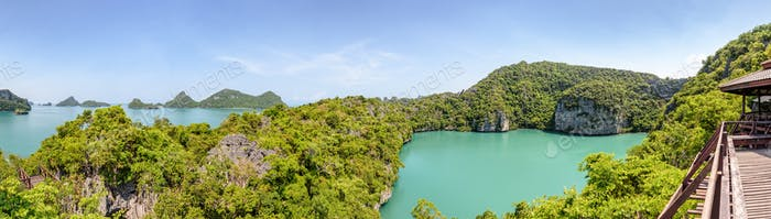 Panorama Mu Ko Ang Thong National Park