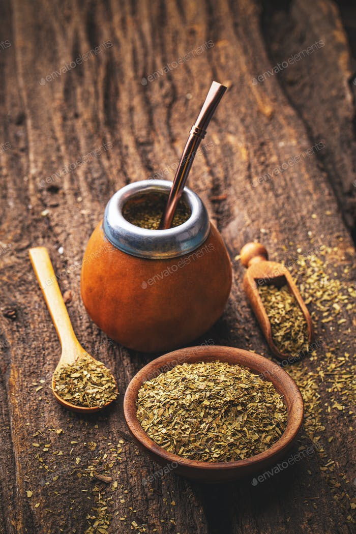 Mate yerba tea