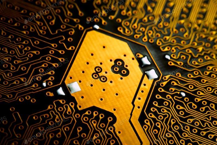 Electronic circuit blur