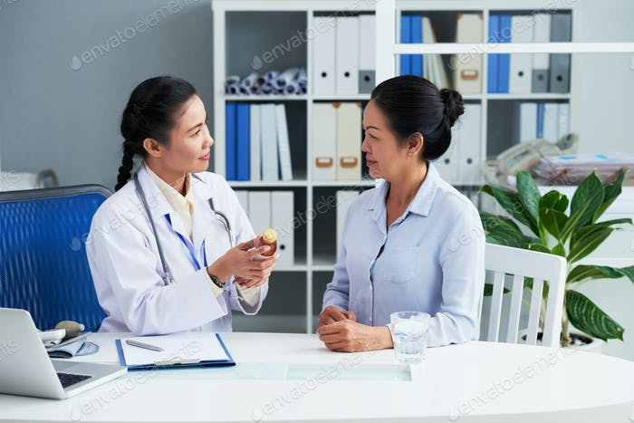 General Practitioner Recommending Remedy
