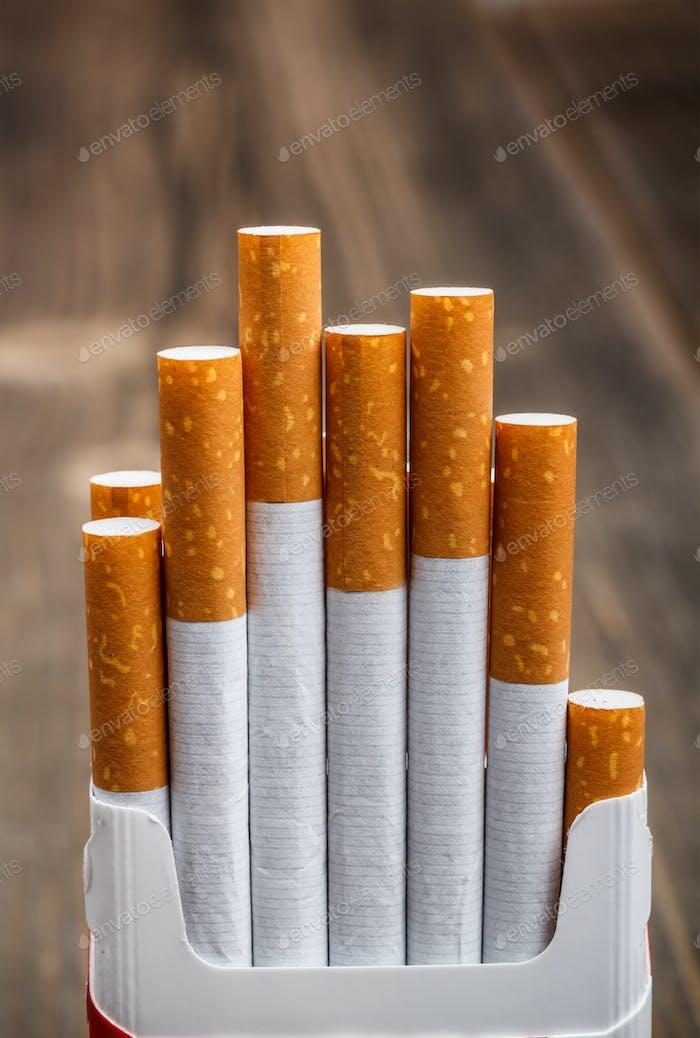 Schachtel Zigaretten