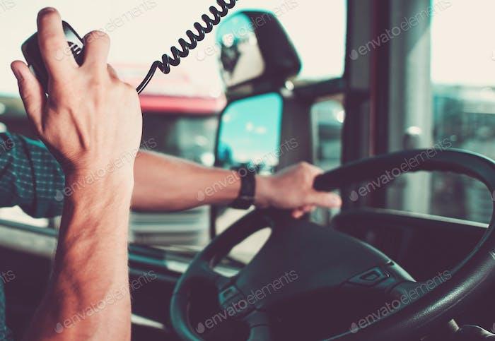 Truck Driving Radio Chat