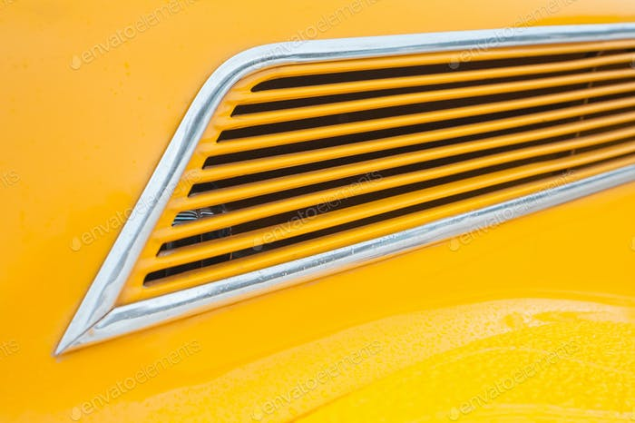 yellow vehicle panel