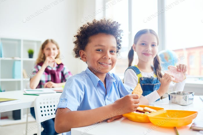 Hungrige Klassenkamer