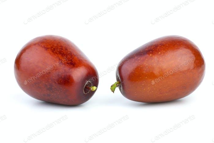 Two jujube berries