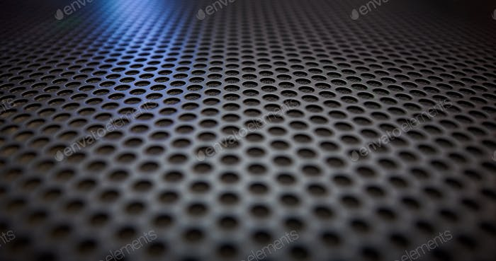 Black speaker grille texture
