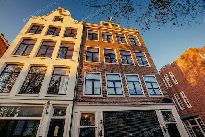 Niederlande .Istorychnyy Zentrum von Amsterdam.