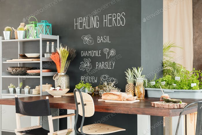 Healthy zone at home
