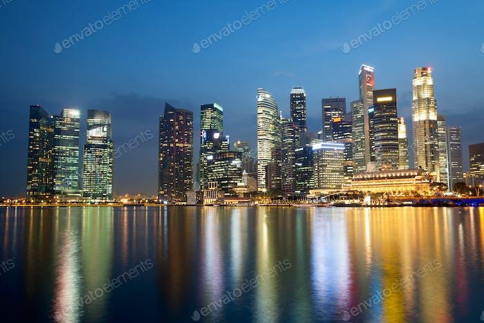 Rascacielos · Singapur