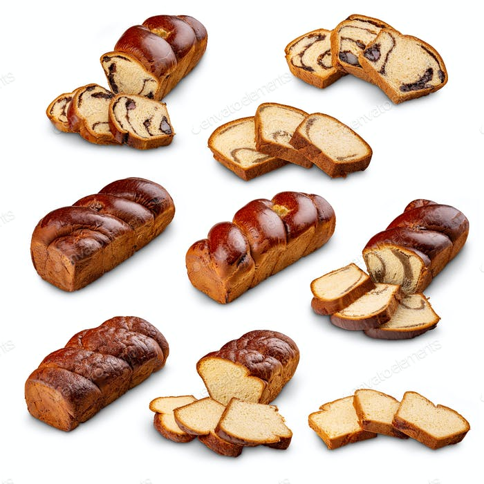 Different type of sweet bread