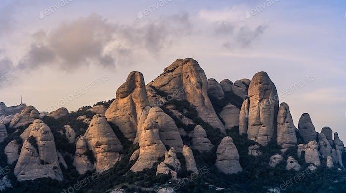 Mountain Scenery in Spain