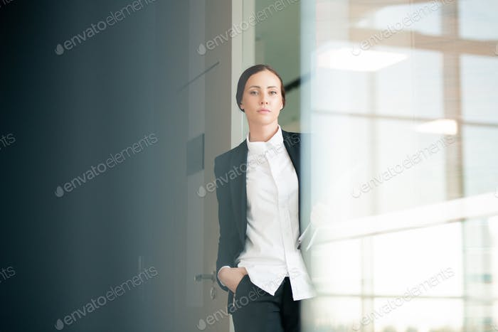 Confident office woman
