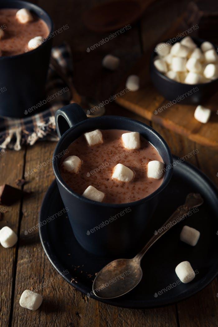 Homemade Warm Hot Chocolate