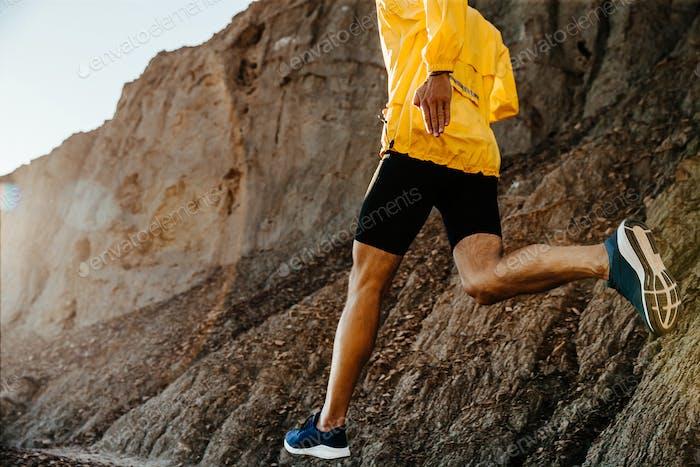 healthy lifestyle sports man running