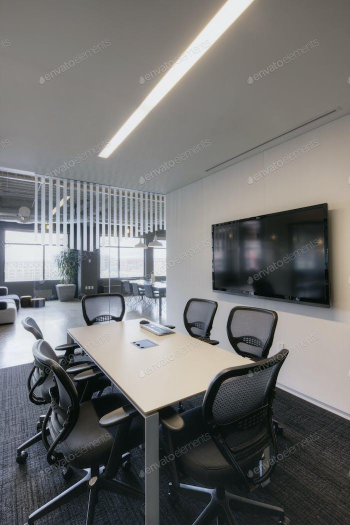 54408,Empty meeting room in office