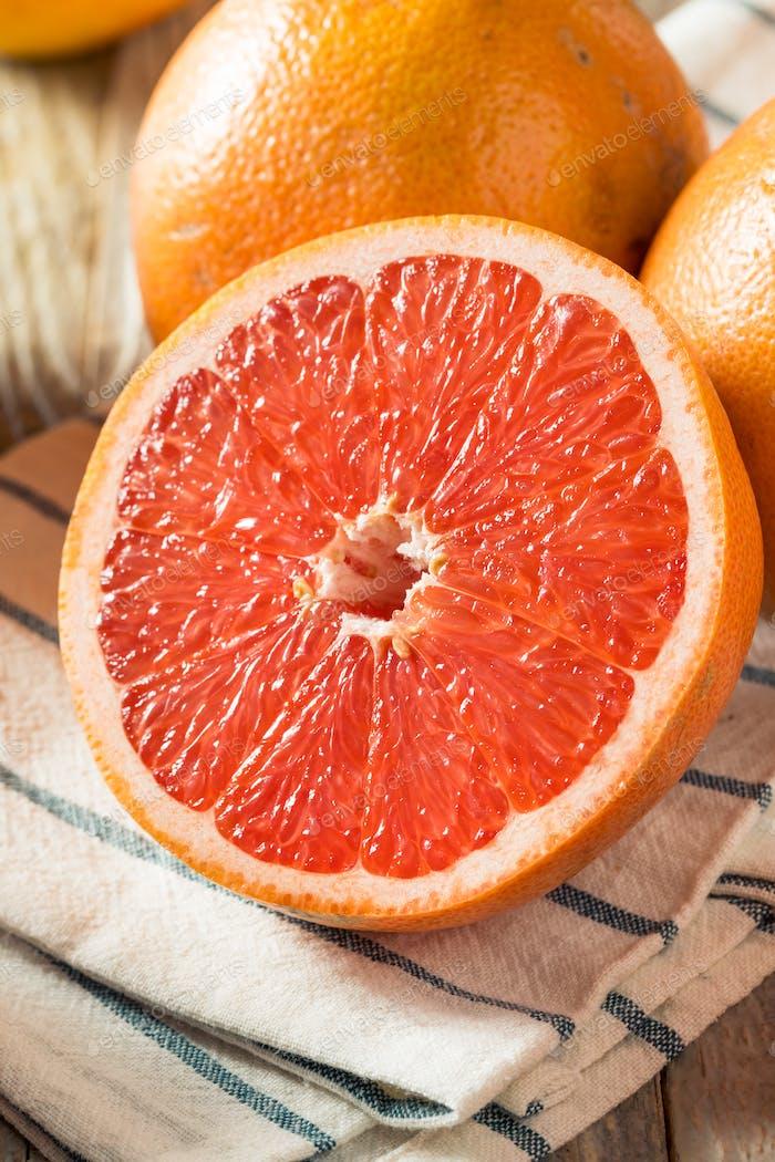 Raw Organic Ruby Red Grapefruits