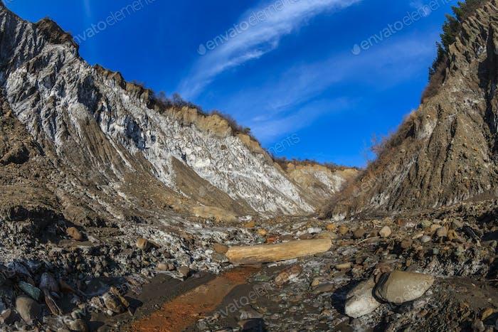 Salty hills