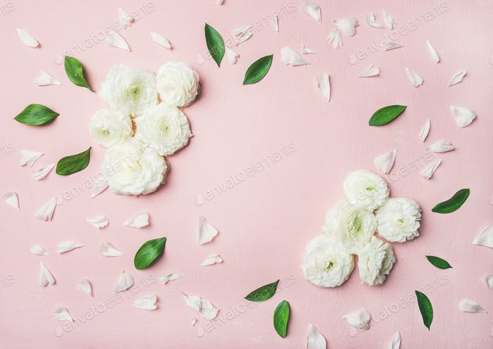 Floral background with buttercup flowers